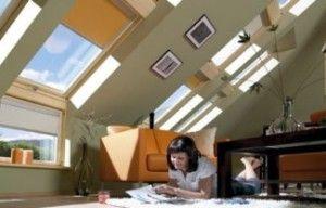 Особенности мансардных окон. Чердачные помещения