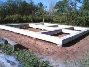 Строительство фундамента дома. Типы фундамента