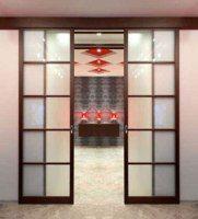 Раздвижные двери. Изготовление раздвижной перегородки
