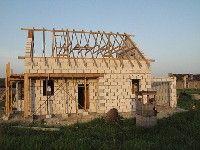 Изготовление каркаса крыши