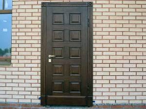 Типы  металлических  дверей.