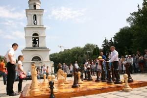 Шахматы в сквере