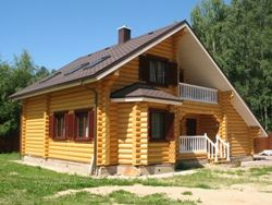 Какой брус подойдёт для постройки дома?