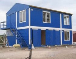 Модульные здания промышленного и жилого типа